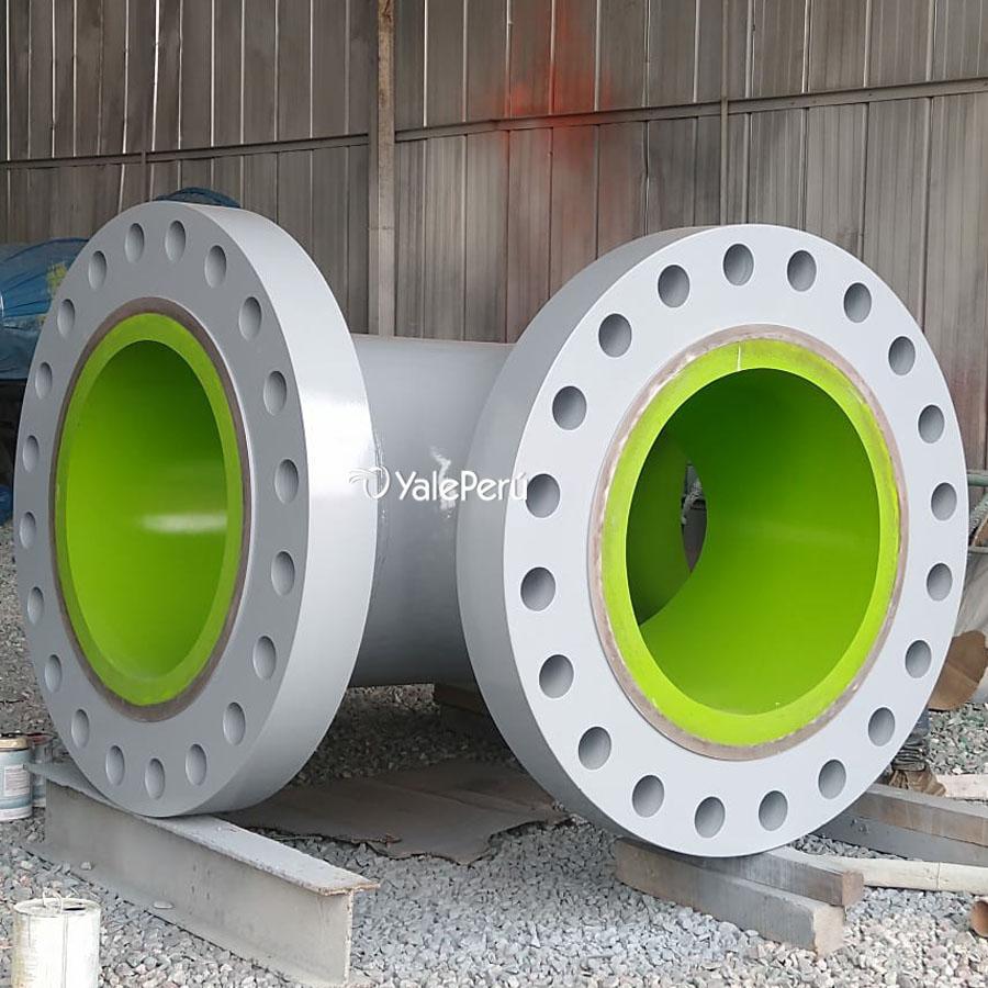 Fabricación de spools con revestimiento en poliuretano
